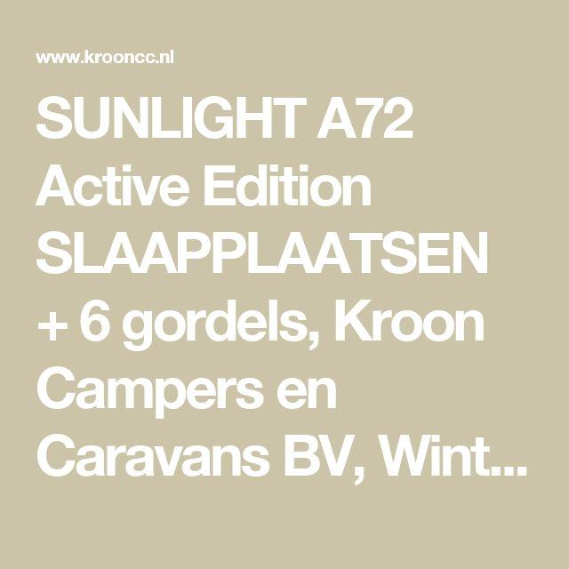SUNLIGHT A72 Active Edition  SLAAPPLAATSEN + 6 gordels, Kroon Campers en Caravans BV, Winterswijk | KROON CAMPERS & CARAVANS BV - Winterswijk
