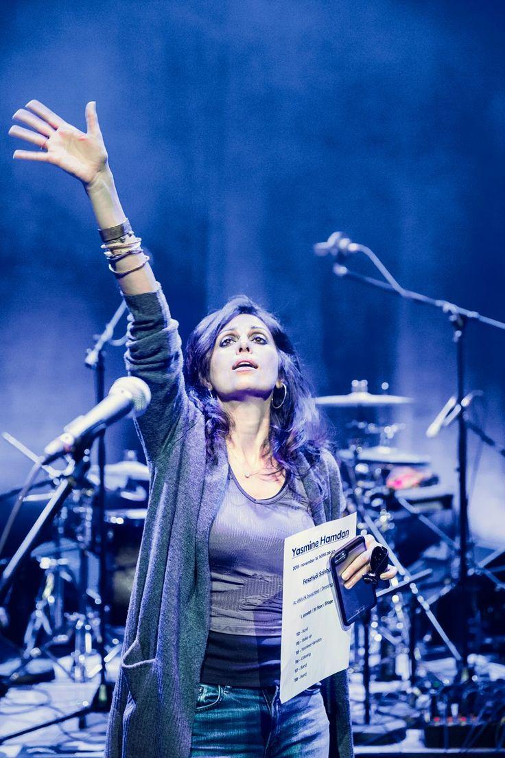 Yasmine Hamdan (photo: Pályi Zsófia)