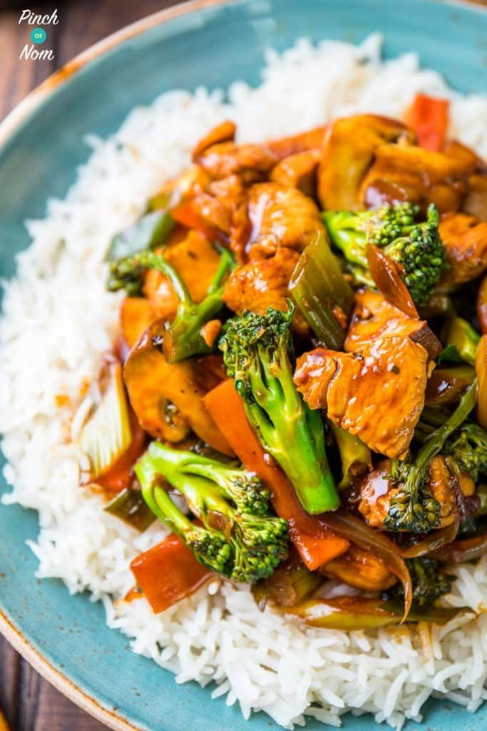 Syn Free Chinese Chicken and Broccoli   slimming world-16