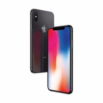 iPhone X memiliki desain kaca menyeluruh dengan layar Super Retina HD 5,8 inci dengan HDR dan True Tone.1 Didesain dengan kaca terkuat yang pernah ada di ponsel pintar dan tepian baja tahan karat sekelas alat bedah medis.