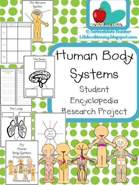 Human Body Systems-Ready to Teach! | Life, Love, Literacy