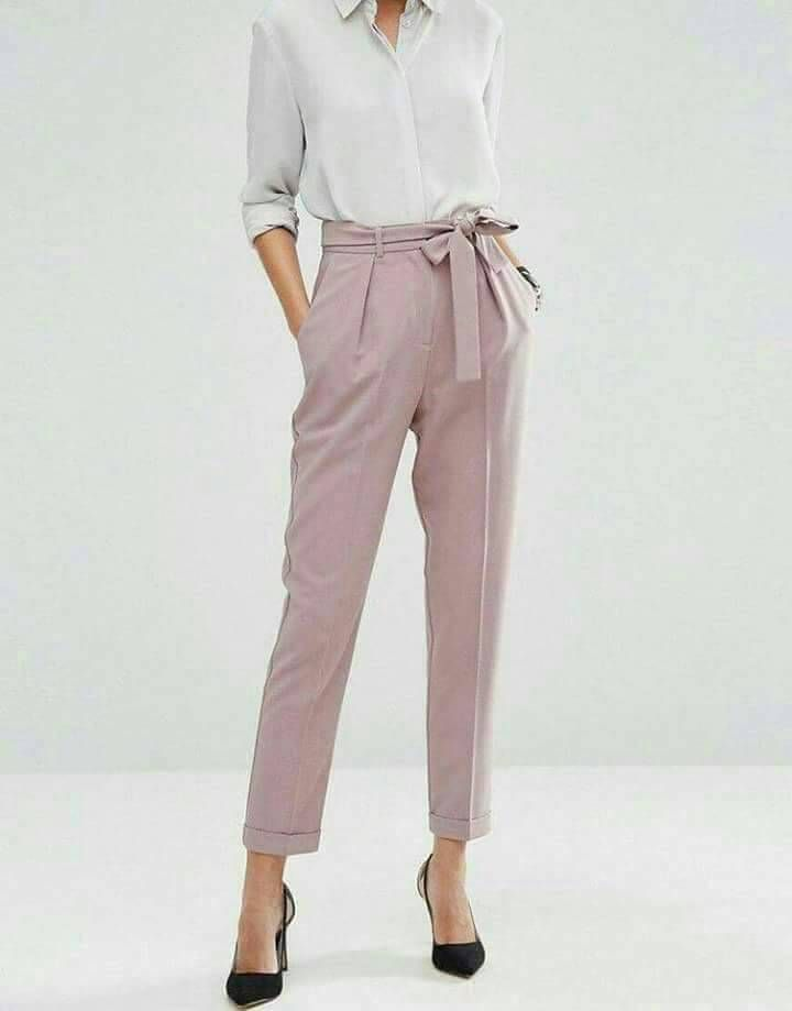 I Love Pants Like This Ngl But Yeah This Would Work Casual Work Wear Fashion Clothes