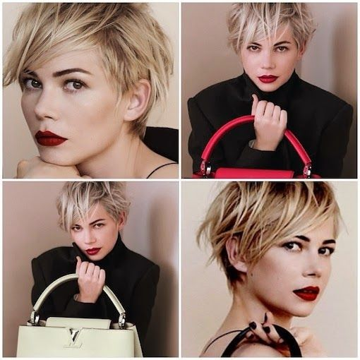 hair crush: JULIANNE HOUGH'S new PIXIE cut More