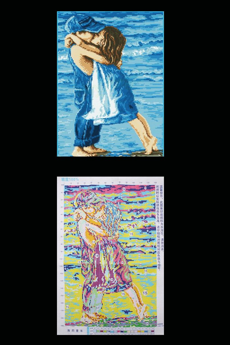 The Childhood Of Sea cross stitch patterns