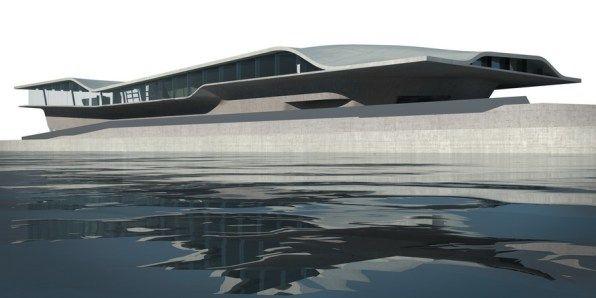 Zaha Hadid – Salerno Maritime Terminal