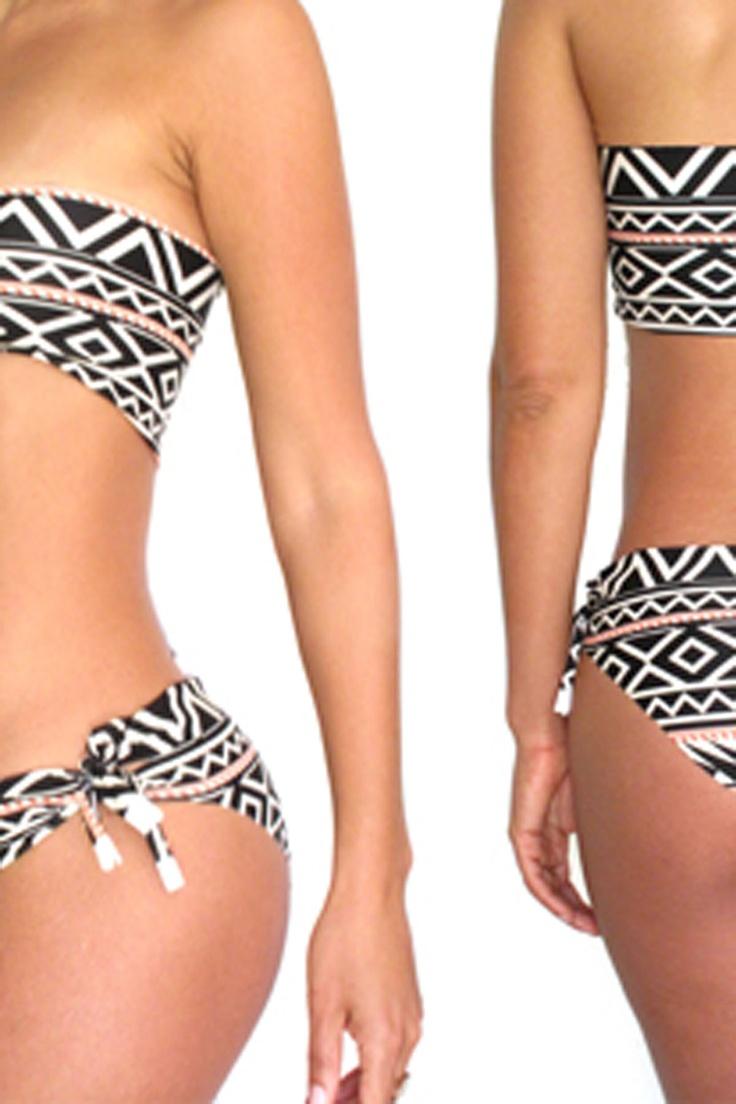 DIY Aztek bikini