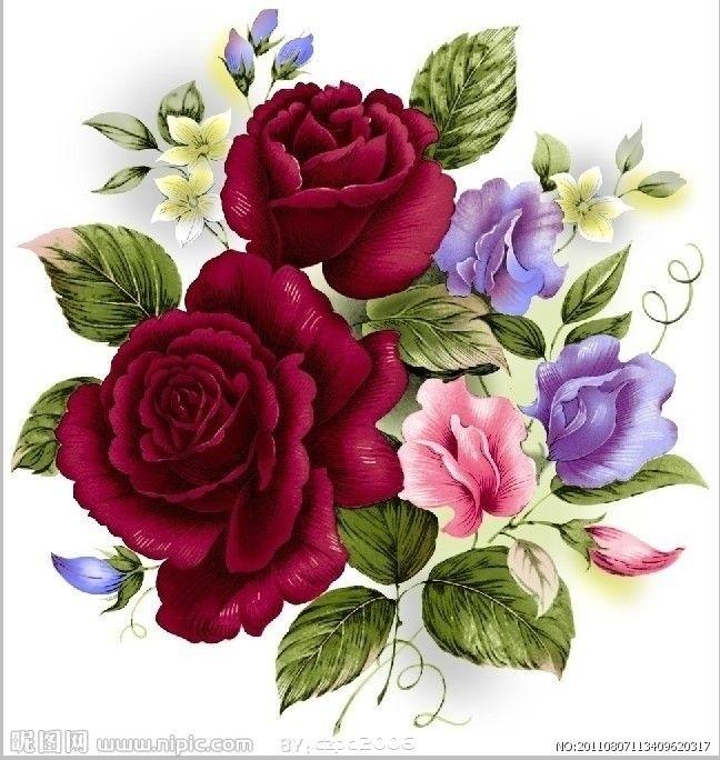 87 besten Dekor Rosen Bilder auf Pinterest | Rosen bilder ...