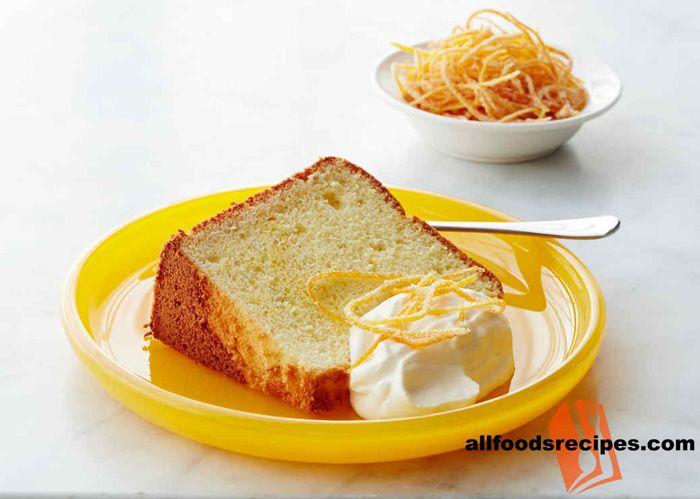 Orange Chiffon Cake Combo Of Baking