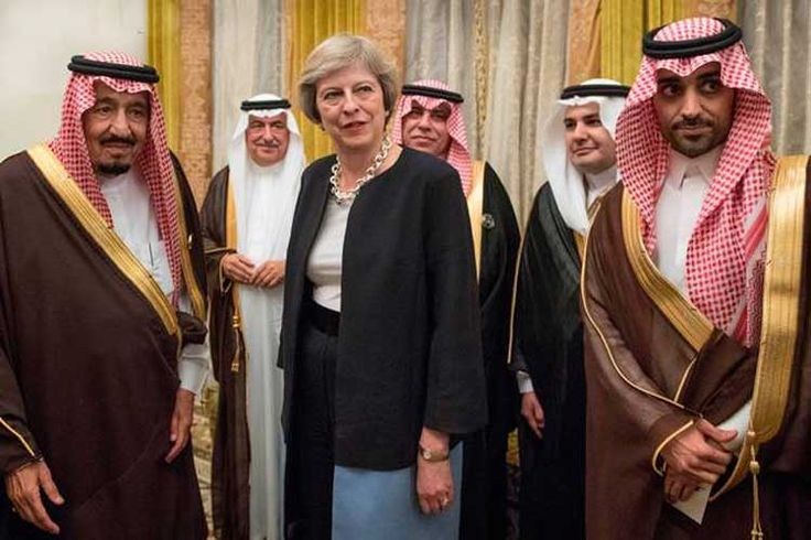 Britain continues weapons trade over Yemenis blood BlackHouse, Apr. 10 – The British Prime Minister Theresa May ended her trade mission in Saudi Arabia successfully. She guaranteed its silence over Saudi Arabia's crimes in the region as expected to prove the Saudi's support to the wobbly economy of UKB. The British prime minister did not... https://bh-news.net/2opg81z