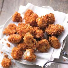 """""""Des authentiques nuggets US, le gras en moins C'est la recette approuvée et validée par toutes les foodistas américaines. Le corn chicken, c'est la spécialité du Kentucky ambiance street food mais le gras en moins !"""""""