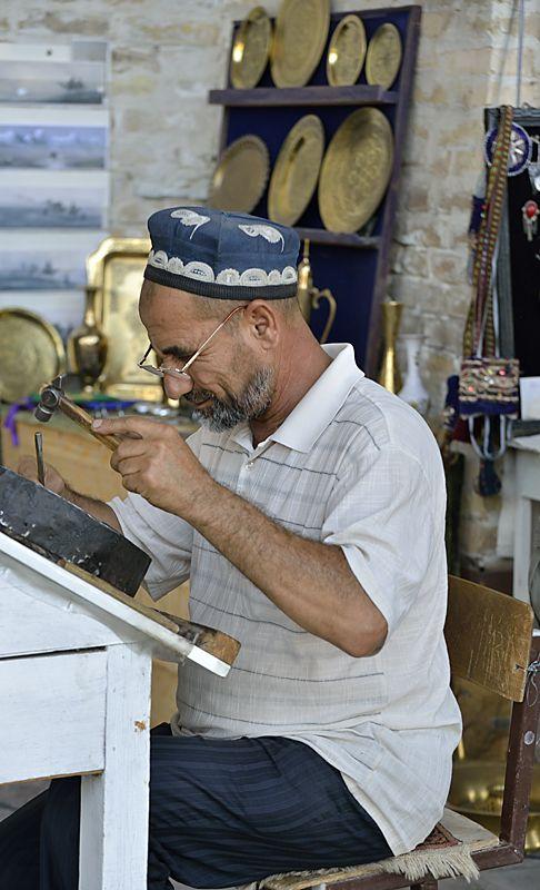 Jeweller's Workshop - Bukhara, Bukhara - Uzbekistan