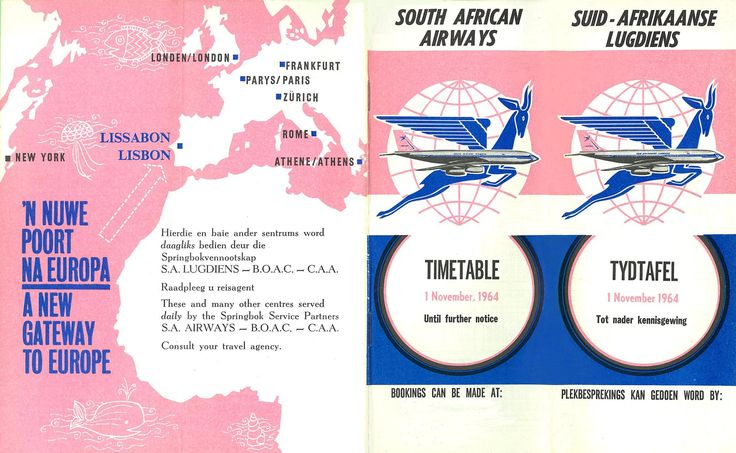 I wish we still flew to these places