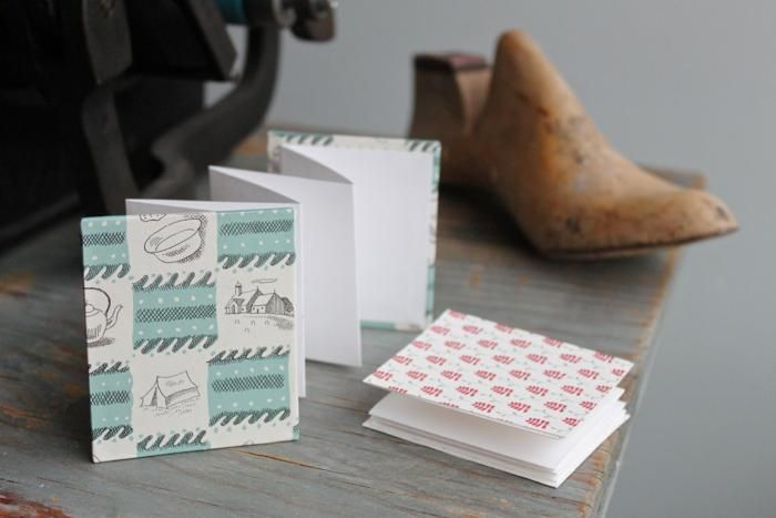 DIY Accordion books by Angela Liguori