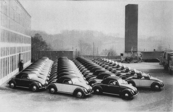 Type 14A's at the Hebmuller factory