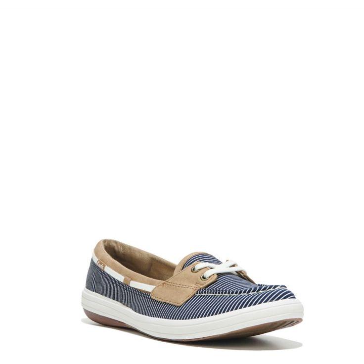 Keds Women's Glimmer Slip On Shoes (Navy) - 10.0 M