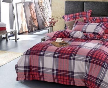 Купить постельное белье из фланели LATENGO евро от производителя Asabella (Китай)