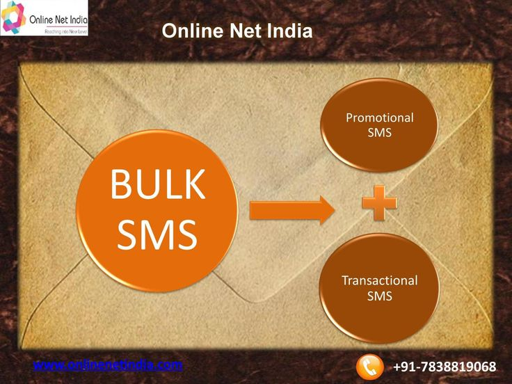 Cheapest bulk sms service provider in delhi ncr  Promote your service/product through Mobile marketing in short period of time. we provide bulk sms service at cheapest rate only @0.10paisa/sms For more visit: www.onlinenetindia.com