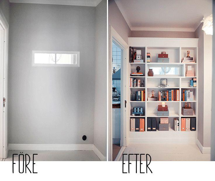 att ha gjort ett st rre ikea hack att vara n gons fru interior pinterest ikea hacks. Black Bedroom Furniture Sets. Home Design Ideas
