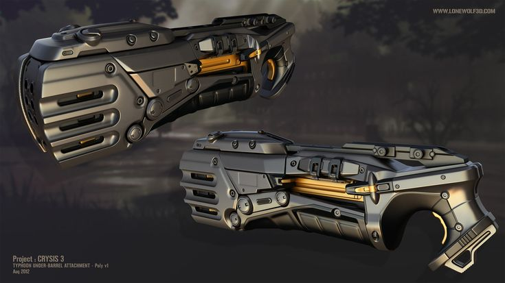 crysis 3 quottyphoonquot weapon attachment 3darmsdesign