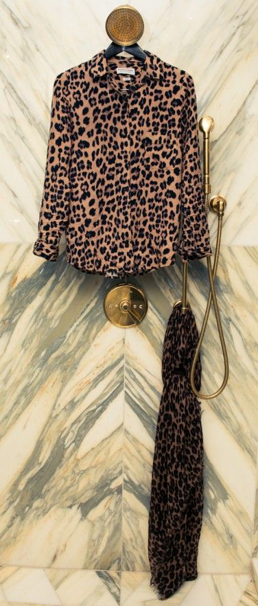 Phoebe Tonkin's Masini & Chern Leopard Print pyjamas - The Coveteur