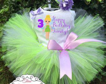 Tinkerbell Tutu Dress Tinkerbell dress by Justforfuntutu on Etsy