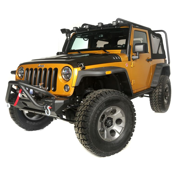 Wrangler JK Showcases Latest Wrangler Accessories. All available at: www.shopjeepparts.com