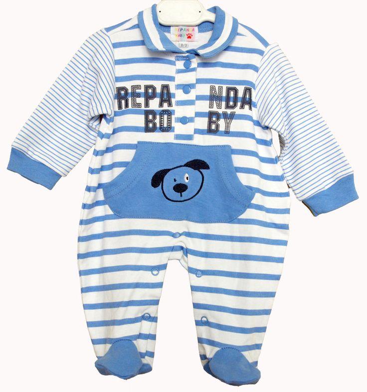 Tutina, cotone, neonato,baby, colletto a polo tasca marsupio  taglie 0/18 mesi