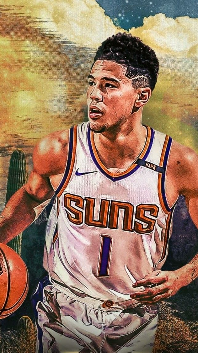 Devin Booker, #1 for the Phoenix Suns is on a rise to stardom as he continues to score relentlessly.