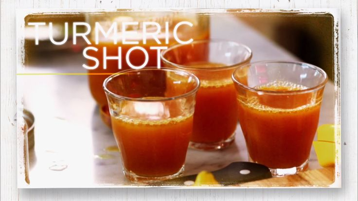 Turmeric Shot: 4 lemons  1 ½ cups Coconut Water  1 tsp Cayenne Pepper  2 tsp Turmeric Root Powder  Cut lemons in half and squeeze into Jar. Add all ingredients, shake.