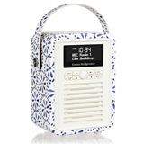 Buy a VQ Retro Mini Emma Bridgewater Blue Daisy- Stylish DAB/DAB+/FM Radio  from our range at The Co-op Electrical.