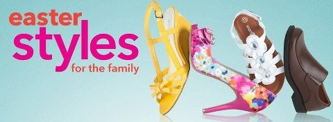 Need Easter Shoes ... Bassett, for the whole Family ~ plus, BASSETT HAS IT ... Easter Bunny and FREE movies, coloring, lolly pops & BUNNY EARS for your little Bunnies Bassett Place!!!