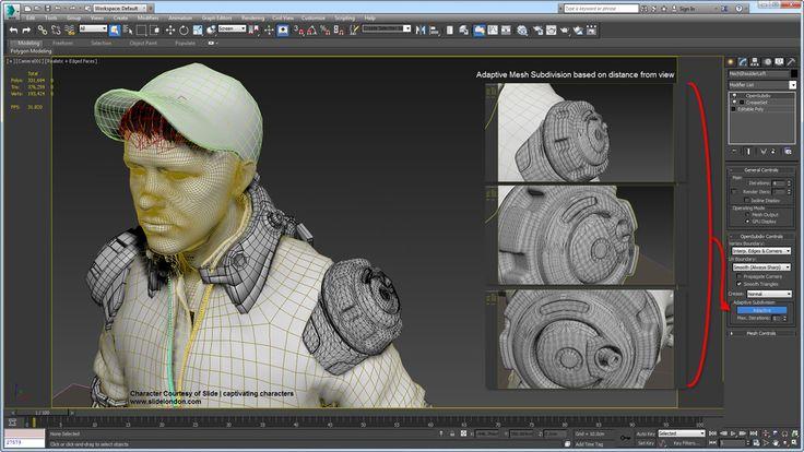 Logiciel de modélisation 3D et de rendu 3D   3ds Max   Autodesk
