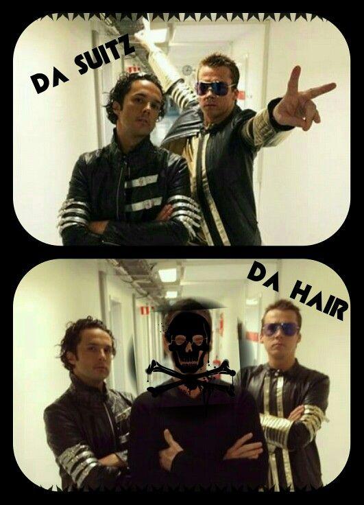 Da hair is back with da suitz!