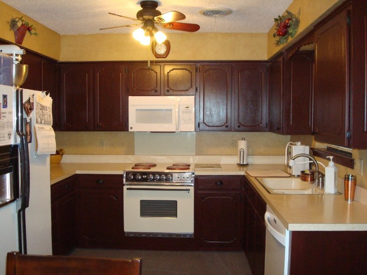 Kitchen Cabinets on Pinterest  Oak cabinets, Painting cabinets