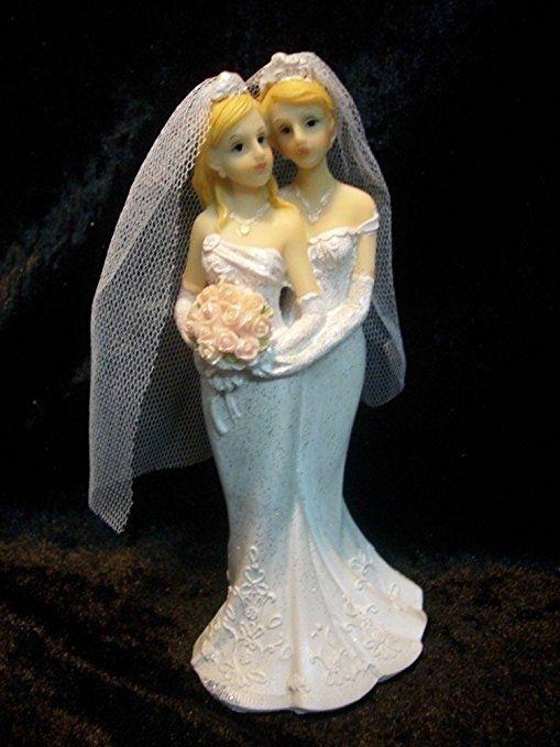 Hochzeitspaar Frauen 18 Cm Lesbisch Homosexuell Hochzeit Braut Deko