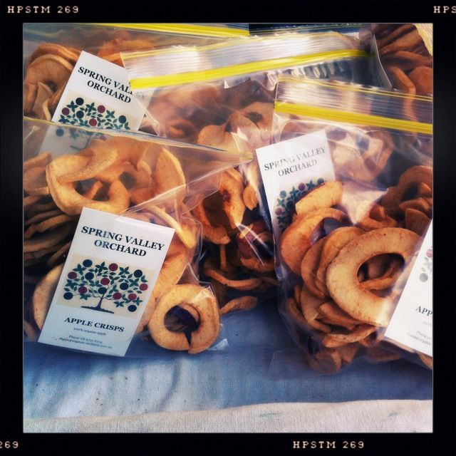 Apple Crisps from Spring Valley Orchard