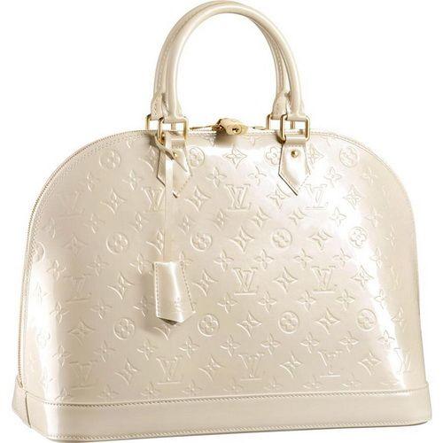 Louis Vuitton Monogram Vernis Alma Mm M91450 Anb-$256
