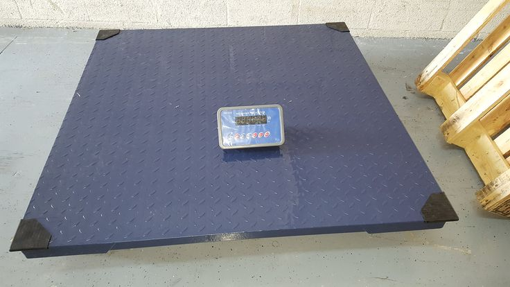"""5x5 Floor Scale 10,000 lb Capacity! NTEP! Heavy Duty Steel!. 5x5 10,000 lb Floor Scale. Low Profile 3.5"""" H. 200% Overload Protection. Arrives Calibrated Plug and Play. Includes PS-IN202 Indicator."""
