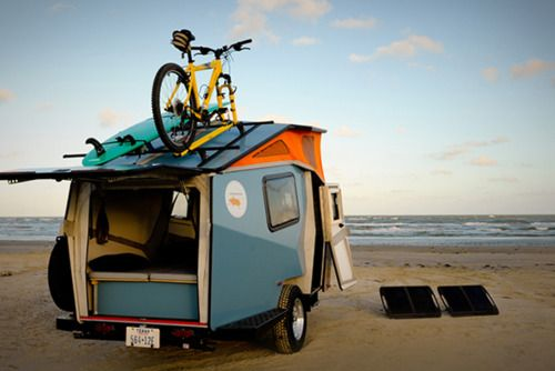 who needs hotels: Pop Up Campers, Pop Up Trailers, Popup Trailers, Cricket Pop Up, Camps Trailers, Travel Trailers, Beaches Camps, Beaches Style, Happy Campers