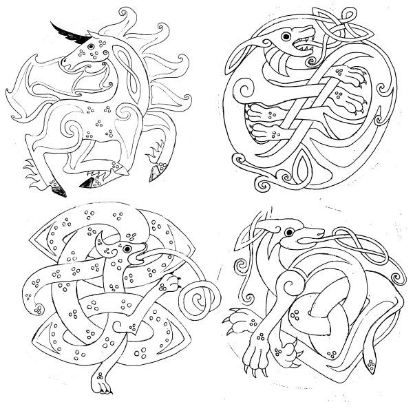 clip art celtic animals - photo #35