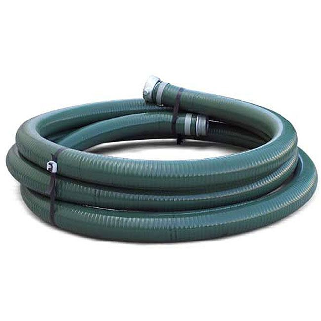 MAX TOOL Water Pump 2-inch 20-foot Suction Hose (Water Pump 2'' 20ft. Suction Hose), Green (Rubber)