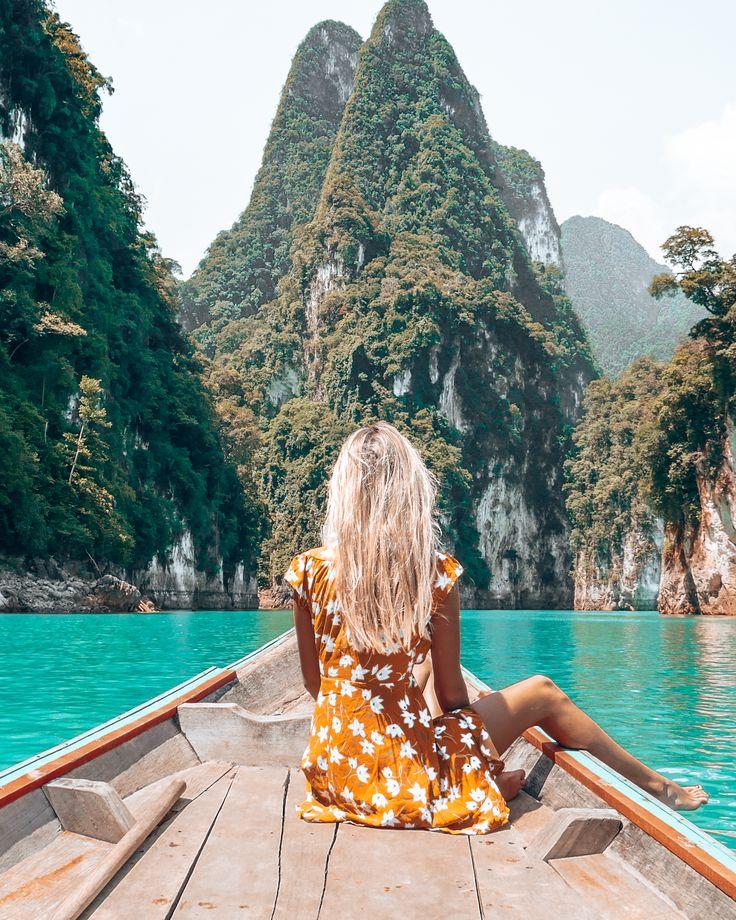 Parque Nacional Khao Sok Tailândia est #destinos # viagem # paraíso # inspiração # …   – Urlaub