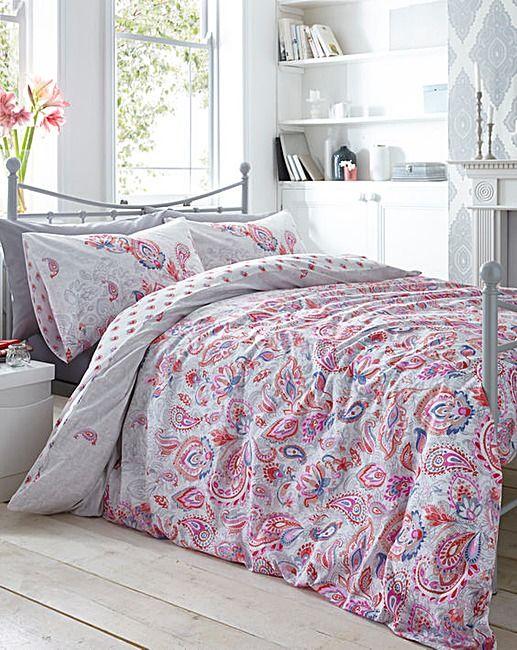 Lulu Reversible Print Duvet Cover Set | Home Beauty & Gift Shop