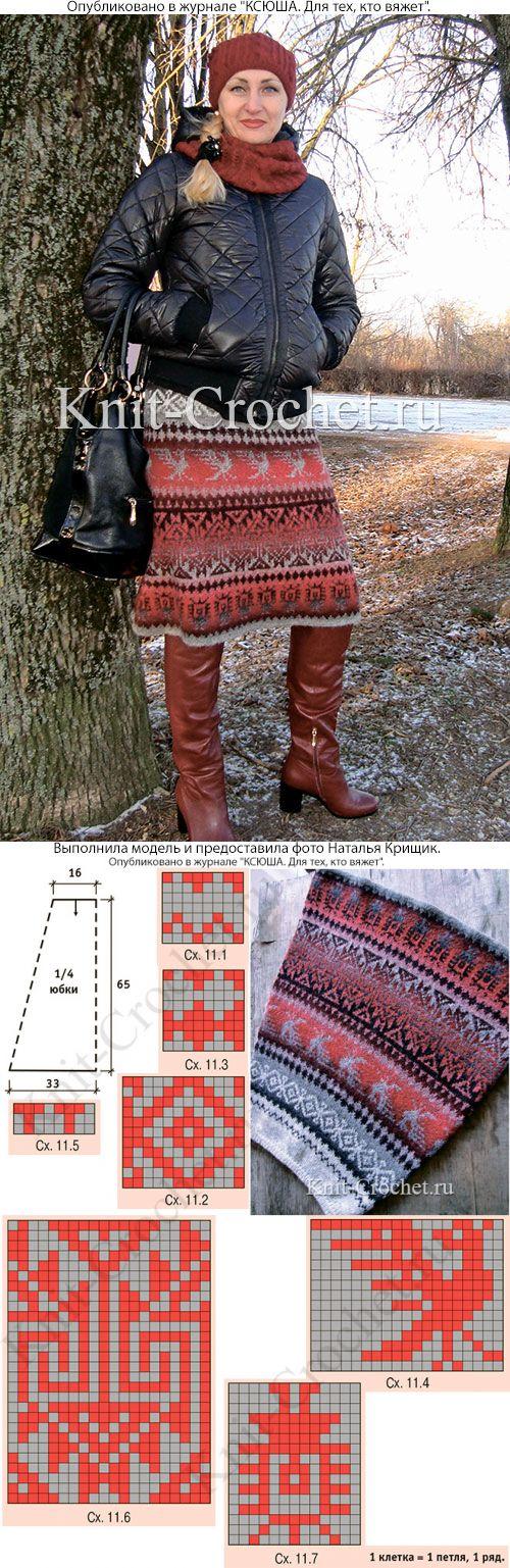 11 best MNH Knit Skirt images on Pinterest | Knit skirt, Fair isle ...