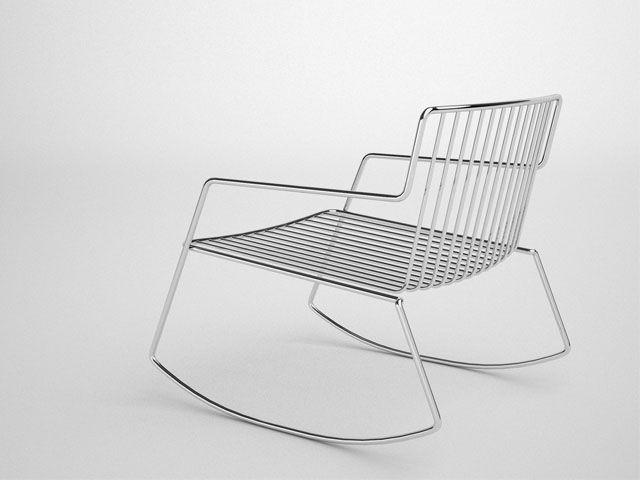 Steel outdoor furniture. aissalogerot.com