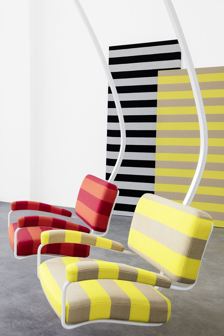 Kvadrat/Raf Simons 2016 Collection Premiering At Galerie Thomas Schulte In  Berlin.