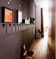 Un couloir tout noir - Marie Claire Maison
