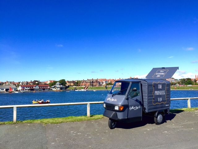 the prosecco van by lytham fizz co