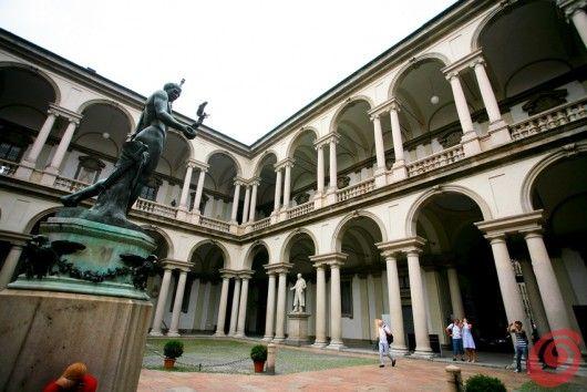 Un sabato mattina a Milano  Accademia di Brera