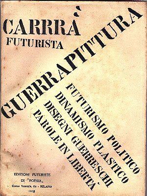 Italian Futurist Books